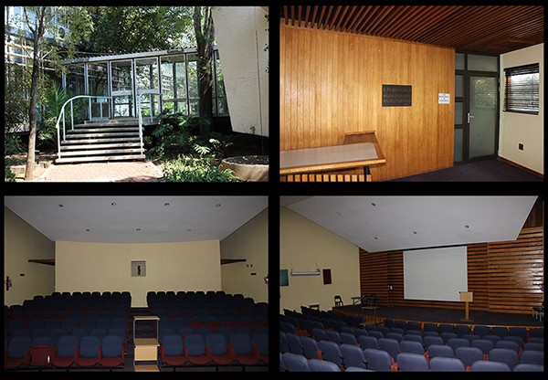 Situated in the Dairy Science Building - seating capacity about 180 people. Air coditioned, R1000.00 rental per day. Contact: Ms Elizabeth Madula, Email: MadulaE@arc.agric.za Tel: 012 672 9010 / 072 180 0631
